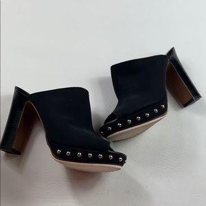 Like new Donald J. Pliner Platform stud mule